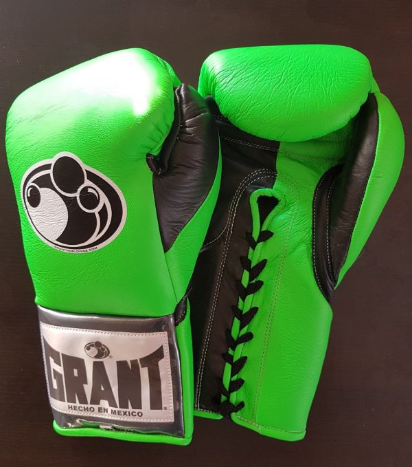Grant Worldwide Custom Pro Fight Boxing Gloves CowHide Leather