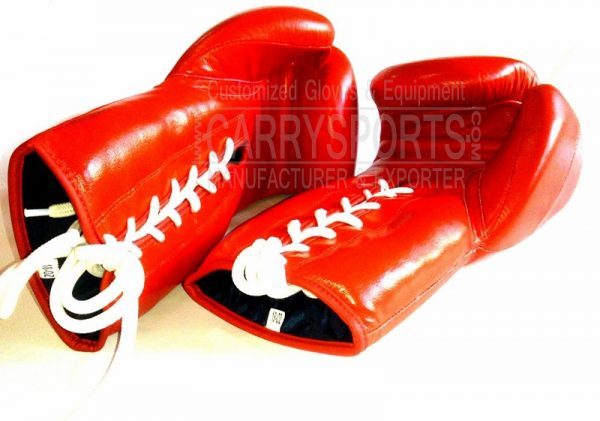 Leather Boxing gloves-carry sports