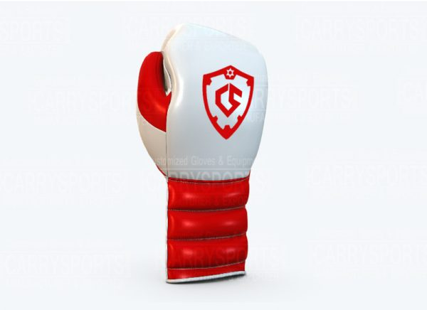Carry Sports Grant Model White and Red Custom Made Boxing Gloves and Equipment Manufacturer Exporter Wholesale Supplier in Sialkot Pakistan (1)